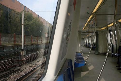 E metrou, e tramvai? ca trucaj nu e...